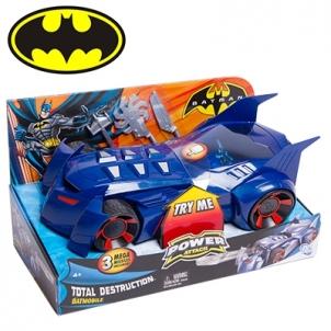 Mattel Batman W7232 Batman Power Attack Total Destruction Batmobile Rotaļlietas zēniem