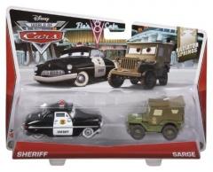 Mattel BDW84 / Y0506 Disney Cars SHERIFF & SERGENT машинка из фильма Тачки