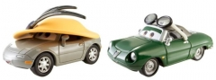 Mattel BDW86 / Y0506 Disney Cars KIMBERLY RIMS & CARINNE CAVVY машинка из фильма Тачки