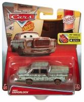 Mattel DLY72 / W1938 Disney Cars ANDY VAPORLOCK mašinėlė iš filmo Ratai