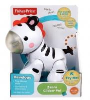 Mattel Fisher Price CGG83 / CGG86 zebras Clicker Pal