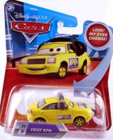 Mattel R1421 Disney Cars CHIEF RPM