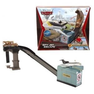 Mattel V2865 Disney Cars, Трасса SPY JET ESCAPE Cars 2 Toys for boys
