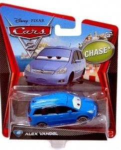 Mattel X6907 Disney Cars ALEX VANDEL Toys for boys