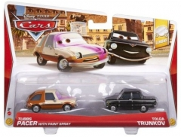 Mattel Y0516 / Y0506 Disney Cars TUBBS PACER and TOLGA TRUNKOV Cars 2