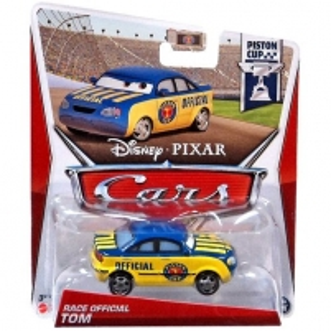 Mattel Y7217 / W1938 Disney Cars RACE OFFICIAL TOM