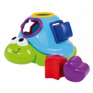 Maudynių žaislas ABC Floating Turtle/Shape Sorter Kūdikių maudynėms