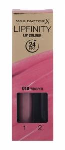 Max Factor Lipfinity Lip Colour Cosmetic 4,2g 010 Whisper Lūpų dažai