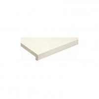 MDP windowsill white 400 mm The particle board windowsills