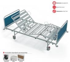 Mechaninė funkcinė lova FB, F8 - ratukas su krypties užraktu