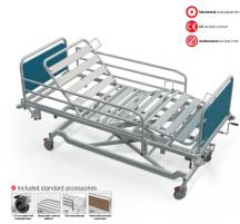 Mechaninė funkcinė lova FBS, F8 - ratukas su krypties užraktu