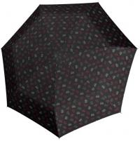 Mechaninis skėtis Doppler Hit Mini Emotion 700165PE black Skėčiai