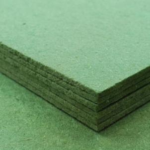 Medžio plaušo plokštė-paklotas grindų dangai KONSTRUKTOR FF 7 mm. Paklotai grindų dangoms