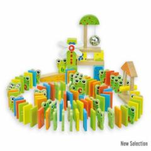Medinis domino kaladėlių rinkinys - žaidimas