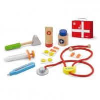 Medinis gydytojo rinkinys lagamine   Viga Toys