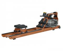 Medinis irklavimo treniruoklis su reguliuojamu vandens pasipriešinimu First Degree Viking 2 V Ash (uosis) Irklavimo treniruokliai