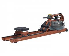 Medinis irklavimo treniruoklis su reguliuojamu vandens pasipriešinimu First Degree Viking 3 V Ash (uosis) Irklavimo treniruokliai