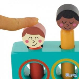 Medinis žaislas Iššok 1+