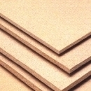 Particle board 12x2750x1830 mm., sanded. Wood chipboards (particle board)