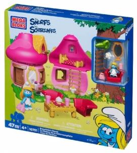 Mega Bloks 10751 Smurfettes House