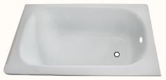 Metalinė vonia 120cm su defektu Lauko kanalizacija kita