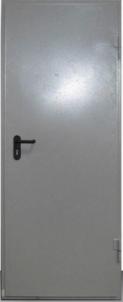 Metalinės durys 960x2060mm, lengvos konstrukcijos Metalinės durys