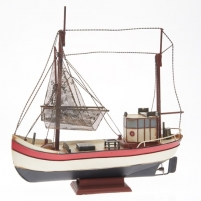 Metalinis surenkamas laivas 905434 Rf-Collection Kutter, 41 x 13 x 40 cm Ships and boats for kids