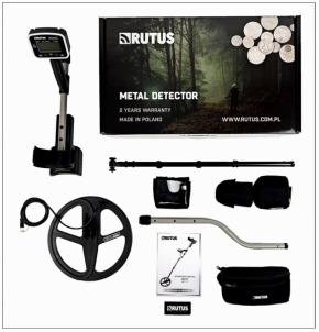 Metal detector RUTUS ALTER 71 DD28 cm Metal detectors and accessories