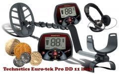Metalo detektorius TEKNETICS EURO-TEK PRO 11DD Metalo detektoriai ir aksesuarai