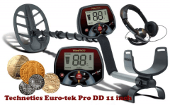 Metāla detektors TEKNETICS EURO-TEK PRO 11DD Metāla detektori un piederumi