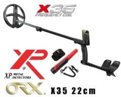 Metal detector XP ORX RC X35 ritė 22 см X35 + Mi6 Pinpointer Metal detectors and accessories