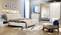 Miegamojo komplektas Palermo Bedroom furniture collection Palermo