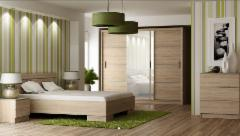 Miegamojo komplektas Wista Bedroom furniture collection Wista