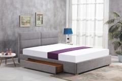 Miegamojo lova MERIDA šviesiai pilka Miegamojo lovos