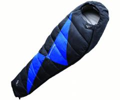 Miegmaišis Micropak 1200 Juoda-Mėlyna; 195 cm; Užtrauktukas dešinėje