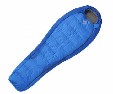 Miegmaišis Topas Mėlyna; 195 cm; Užtrauktukas dešinėje Saviem guļammaisiem