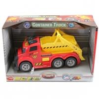 Miesto automobilis su konteineriu   mini   Dickie Žaislai berniukams