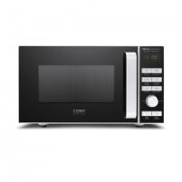 Mikrobangų krosnelė Caso BMG 20 Ceramic 03317 Microwave oven with grill, Grill, Intuitive semi-digital control, 800 W, Black/Silver, Defrost function
