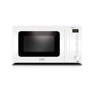 Mikrobangų krosnelė Caso MG 20 Menu Pure White Microwave with Grill, Stainless steel exterior/interior Mikrobangų ir elektrinės krosnelės