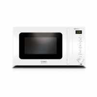 Microwave Caso MG 20 Menu Pure White Microwave with Grill, Stainless steel exterior/interior