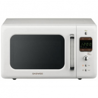 Mikrobangų krosnelė Daewoo KOR-6LBRW Microwave oven/ 20L/800W/ White