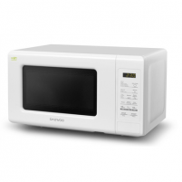 Mikrobangų krosnelė DAEWOO KQG-661BW 20 L, Grill, Electronic, 700 W, White, Microwave oven with Grill, Defrost function