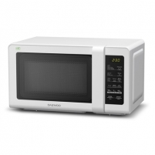 Mikrobangų krosnelė DAEWOO Microwave oven KOR-662BW 20 L, Touch control, 700 W, White, Defrost function, Free standing