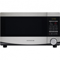 Mikrobangų krosnelė DAEWOO Microwave oven KQG-664BB 20 L, Grill, Touch control, 700 W, Stainless steel/Black, Microwave oven with Grill, Defrost function