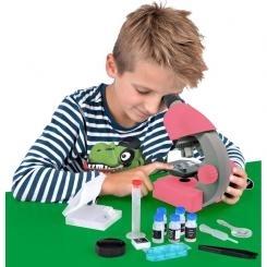 Mikroskopas Bresser Junior 40-640x - rožinis Mikroskopai