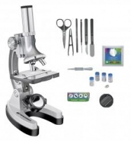 Mikroskopas Bresser Junior Set 300x-1200 su lagaminu Mikroskopai