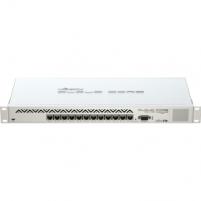MikroTik CCR1016-12G L6 16xCore 1.2GHz 2GB RAM, 12xGig LAN, Rack 19, LCD
