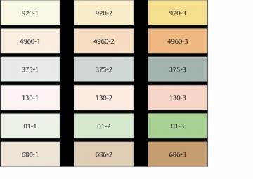 Mineraliniai pigmentai Sakret 686-2 0,2kg ruda