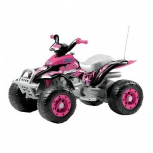 Mini keturatis motociklas Corral T-Rex Pink Automašīnas bērniem