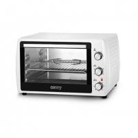 Mini orkaitė Camry Mini Oven CR 6008 63 L, Table top, White, 2200 W Mikrobangų ir elektrinės krosnelės